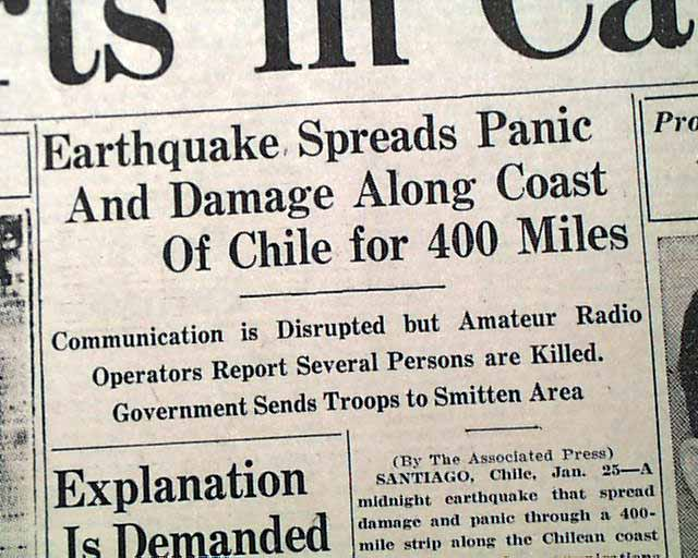 Image result for images 1939 earthquake