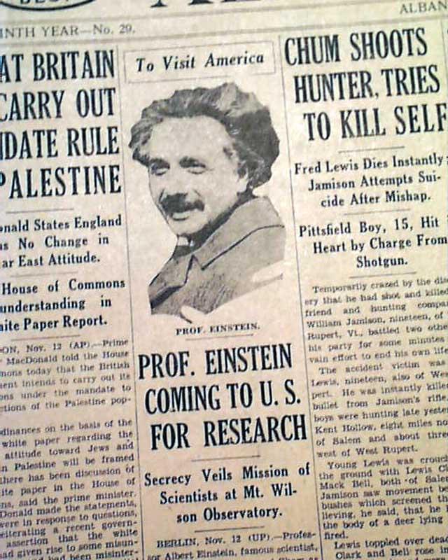 Albert Einstein Research Paper