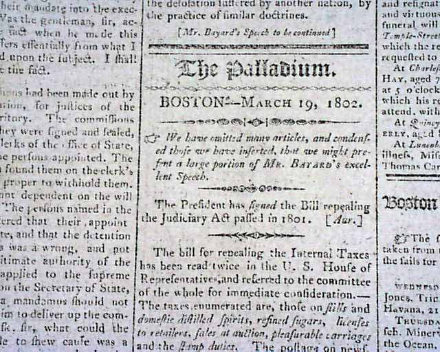 judiciary act of 1801 The judiciary act of 1801 is an article from the american historical review, volume 5 view more articles from the american historical review  view this article on jstor.