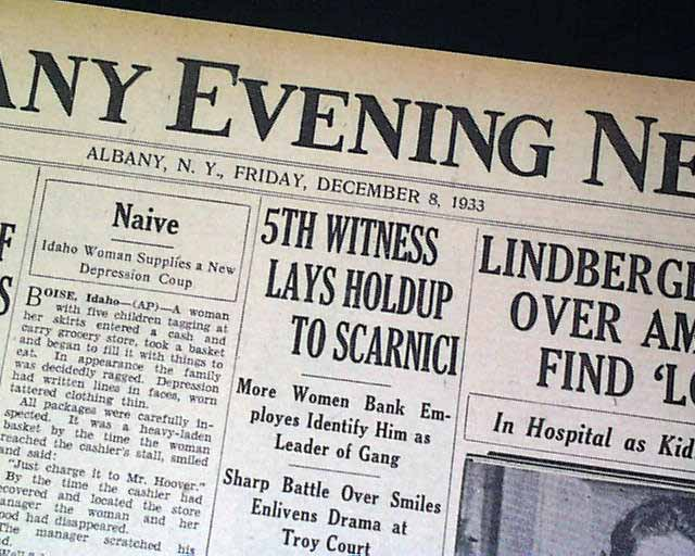Elmer Layden Four Horsemen Notre Dame Fighting Irish Football HEAD1933 Newspaper