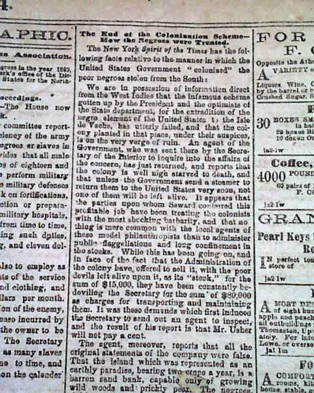 quotmemphisquot newspaper printed in atlanta ga during the civil