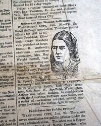 Susan B Anthony As A Leader