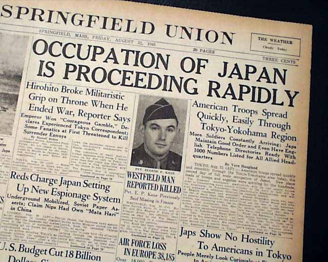american japanese relations and post wwii japan Occupation and reconstruction of japan, 1945–52 after the defeat of japan in world war ii, the united states led the allies in the occupation and rehabilitation of the japanese state between 1945 and 1952, the us occupying forces, led by general douglas a macarthur, enacted widespread military, political, economic.