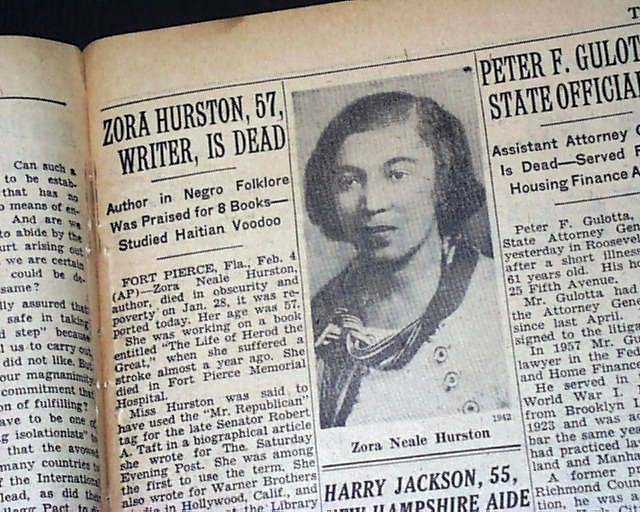 zora neale hurston African american women zora neale hurston's use of black dialect and folk speech drew both praise and criticism by the end of the century toni morrison and.