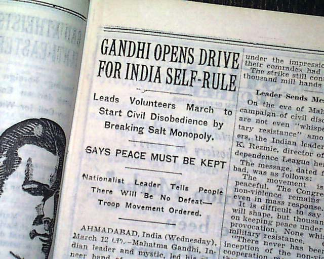 mahatma gandhi satyagraha essay Gandhi considered the terms passive resistance and civil disobedience inadequate for his purposes he coined another term, satyagraha (sanskrit, truth and firmness.