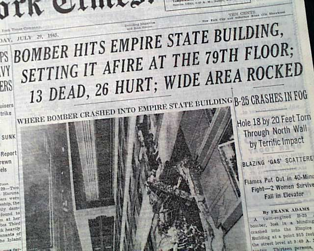 images and i...B 52 Crash Empire State Building