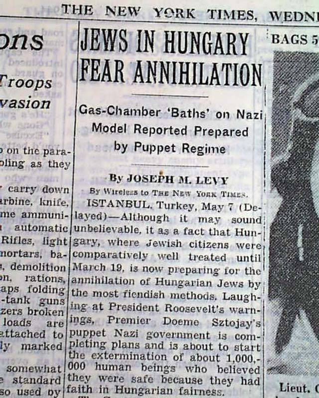 Hitler's Pope, Nazi Crimes, and The New York Times
