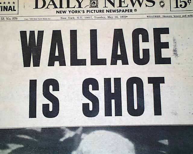 Image result for gov george wallace shot