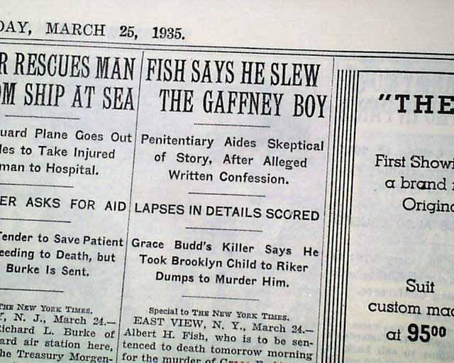 albert fish serial killer essay