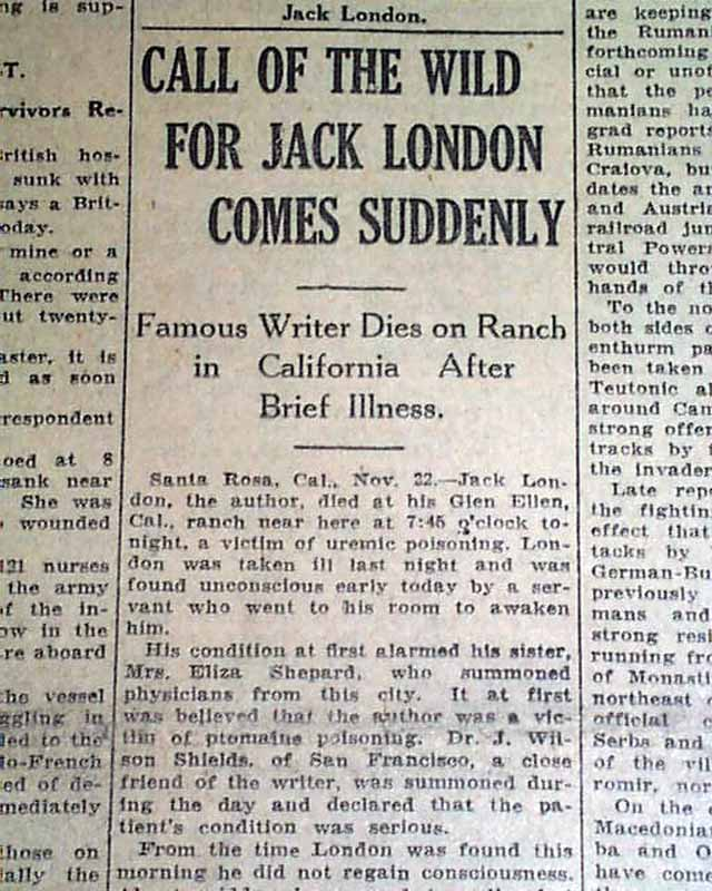 a biography of jack london a pioneer in the then burgeoning world of commercial magazine fiction Biography jack london was born john  in san francisco, california jack, as he came  a pioneer in the then-burgeoning world of commercial magazine fiction,.