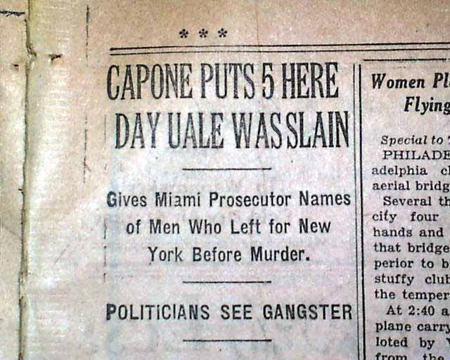 al capone early career