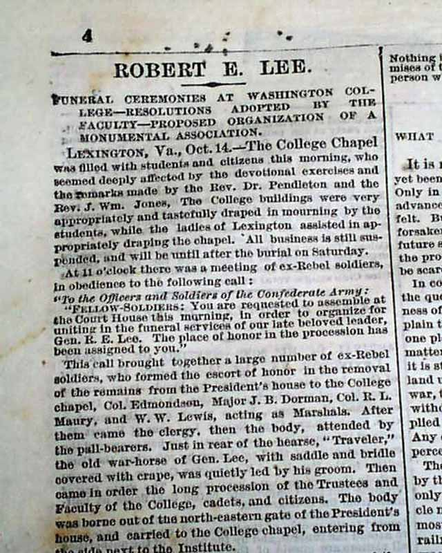 robert e lee essays papers Robert e lee robert e lee for some robert e lee is an almost god like figure for others he was unreasonable robert e lee was born january 19, 1807 in statford, virginia.