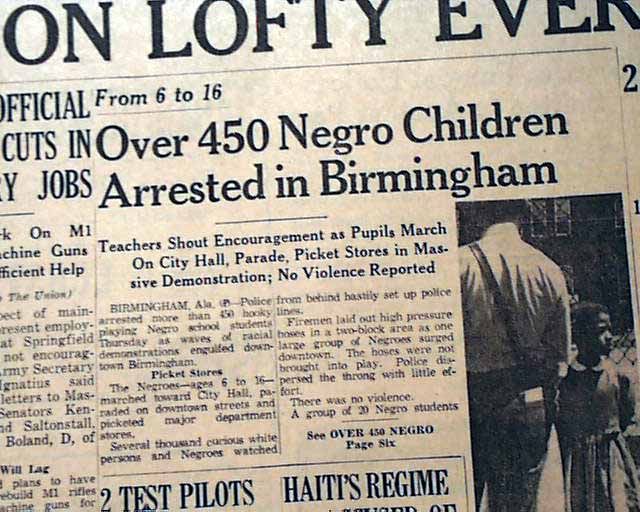 Martin luther king arrest