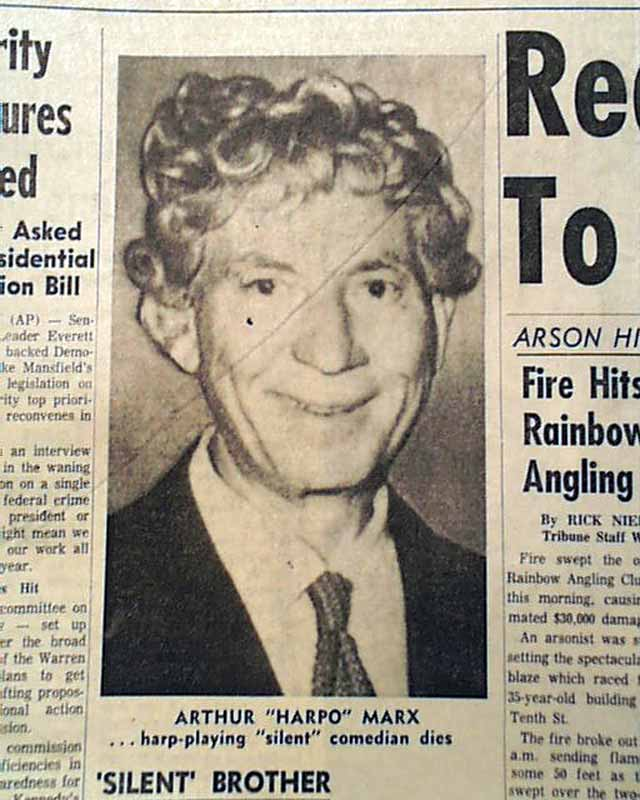 harpo marx youtube