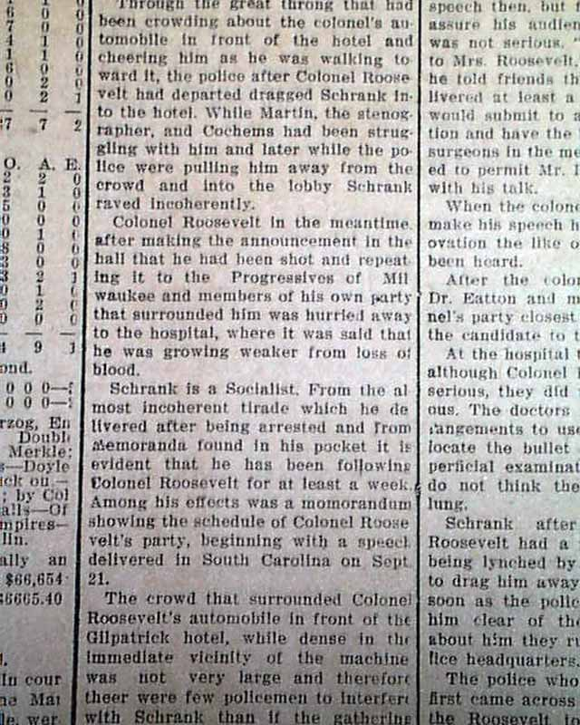 Theodore roosevelt report