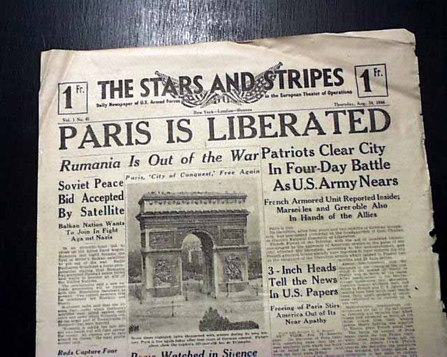 Image result for liberation of paris france