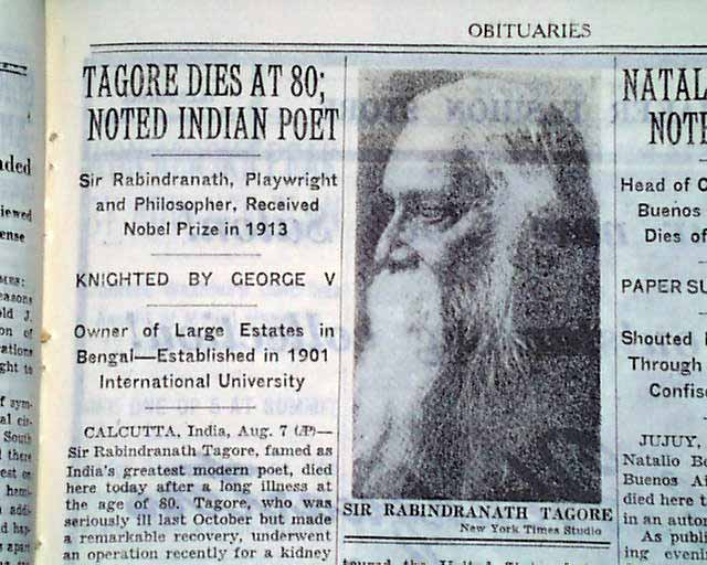Hindi by Rabindranath Tagore Poems