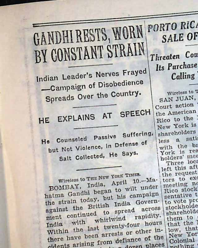 a description of mahatma gandhis experiment on champaran satyagraha Champaran satyagraha:  it was continuation of experiment of non-violent satyagraha after it was  robert payne wrote the life and death of mahatma gandhi in 1969.