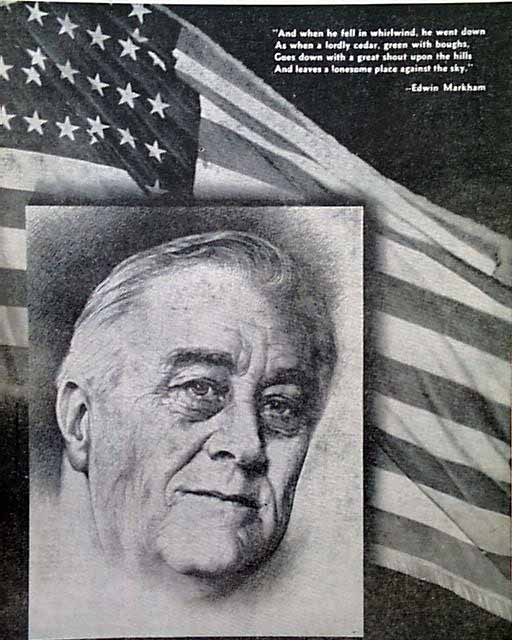 a focus on president franklin delano roosevelt President franklin d roosevelt himself was one of the main proponents of the idea that political necessity tied his hands and prevented him from more forcefully .