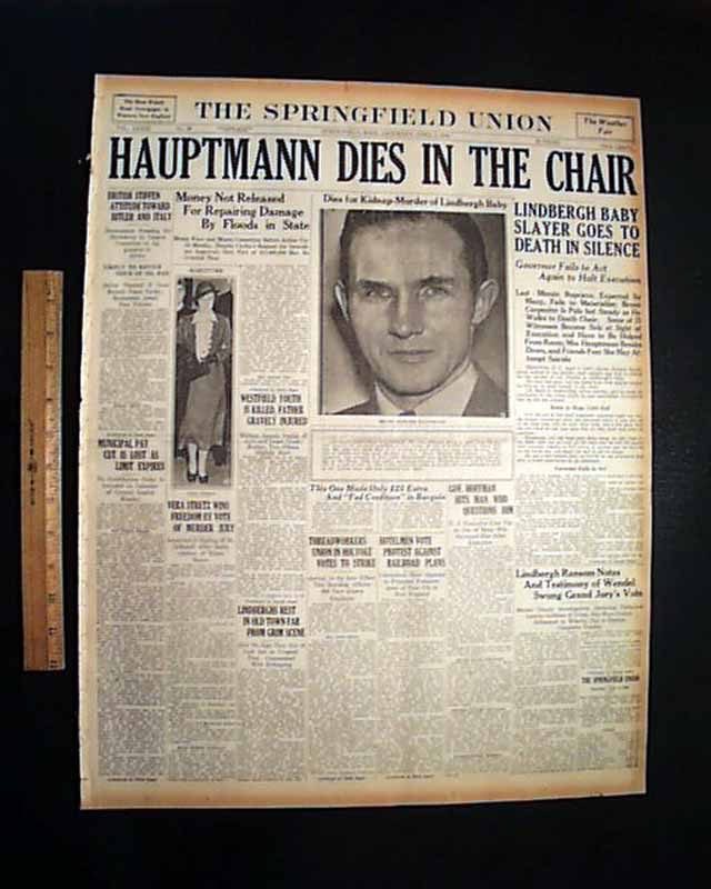Image result for the execution of bruno hoffmann newspaper articles