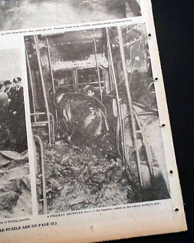 Green Hornet Trolley Disaster In 1950 Rarenewspapers Com