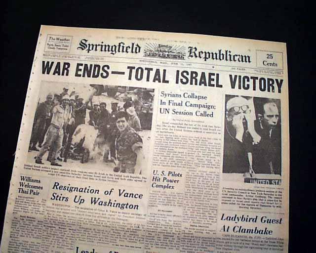arab isreali 6 day war essay