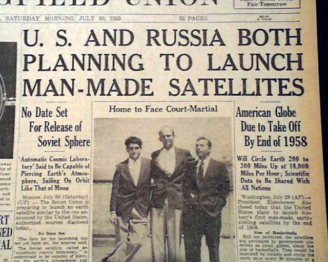 the space race between the united states and the soviet union Space exploration was a battle arena in the cold war and the ussr was in the   the space race between the united states and the soviet union began on.