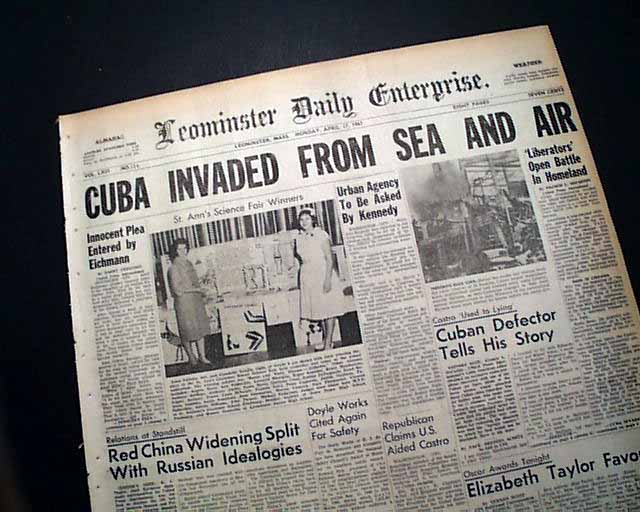 bay of pigs invasion essay Bay of pigs invasion essay running head: the bay of pigs invasion, 1961the bay of pigs invasion, 1961nameinstitution affiliation1the bay of pigs invasion.