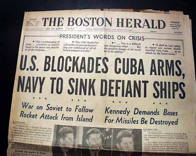 an overview of the cuban missile crisis and the manhattan project