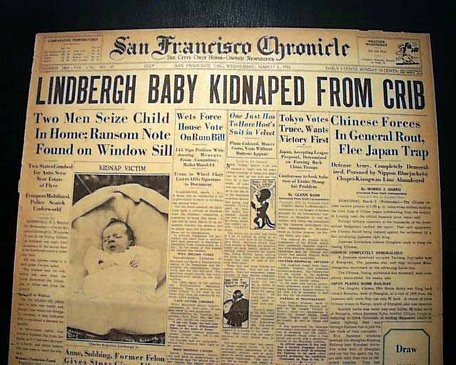 an introduction to the real crime of the century the lindbergh baby kidnappig The crime of the century is the perfect follow up after reading the two books above the authors detail a very convincing case that there was no kidnapping in the first place back in the 1930s, police did not suspect parents in the disappearance of their children lindbergh's unprecedented hero status made him untouchable.
