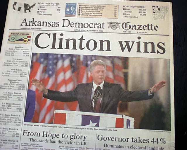 Best BILL CLINTON Hillary as 1st lady Wins Presidential ...