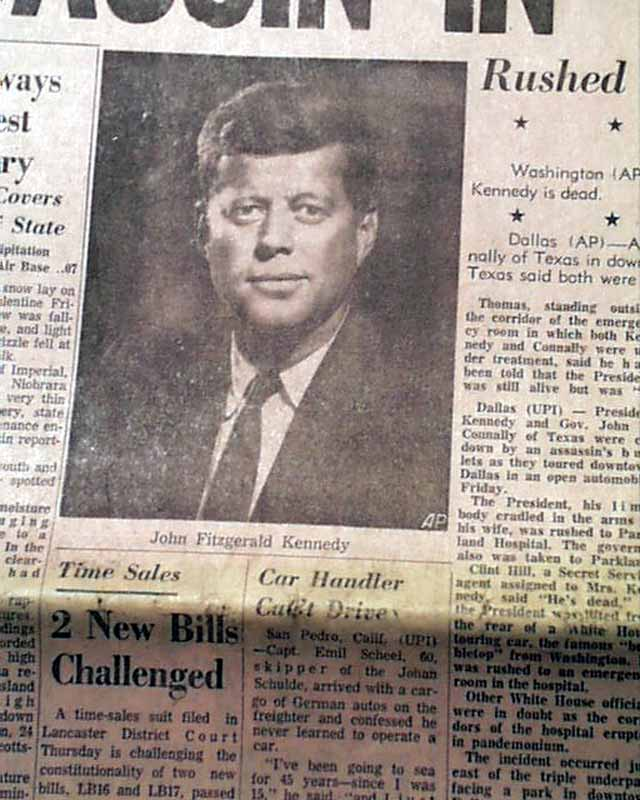 report kennedy assassination This teletype roll—the very source of the report remembered by everyone—freezes that pivotal  john f kennedy's assassination in dealey plaza on.