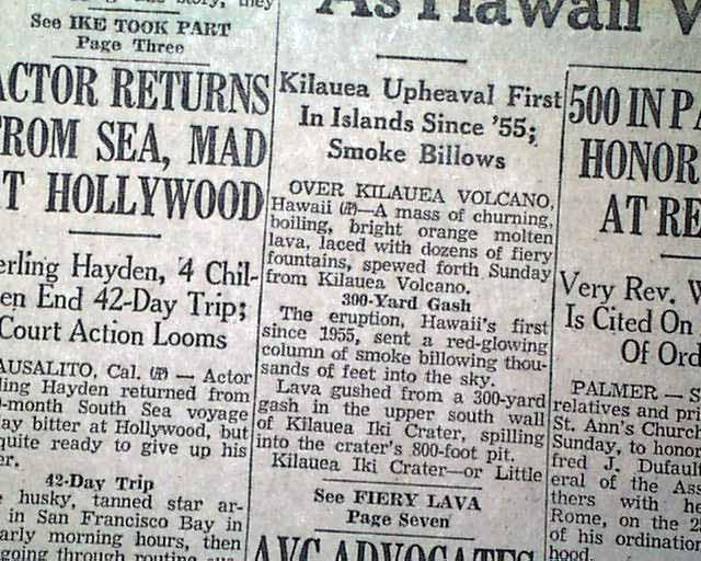 newspaper terms subhead