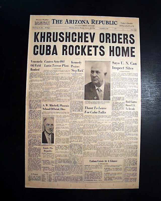 cuban missile crisis image essay Cuban missile crisis the closest the world has come to nuclear war was the cuban missile crisis in october 1962 this was the tense cold war opposition between the united states and the soviet union.