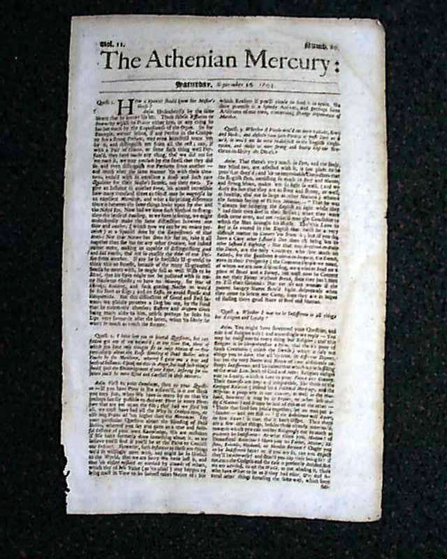 Athenian Mercury - The Bottom Broke Open And My World Fell In