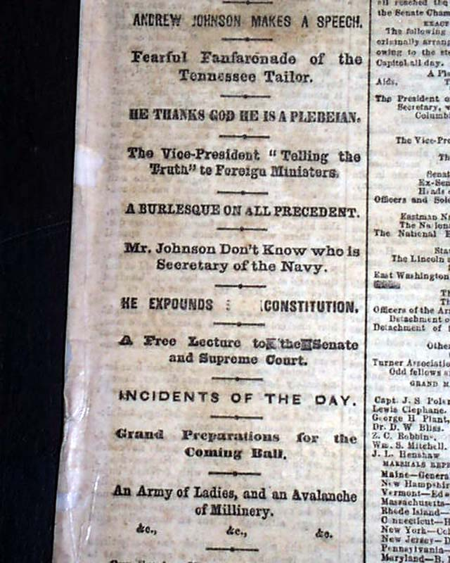 lincoln's second inaugural speech On march 4, 1865, president abraham lincoln made one of the shortest inaugural addresses in american history lincoln's second inaugural address was only seven hundred and three words, but it was one of the most memorable speeches in.