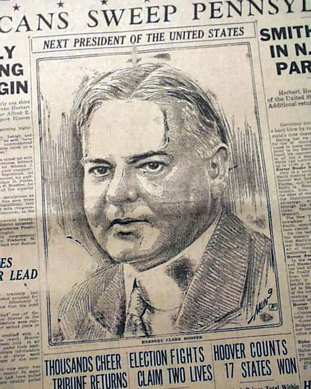 the life and presidency of herbert hoover It was at stanford that he made life long friends,  president herbert hoover delivering the inaugural  post presidency hoover devoted the next 12 years to.