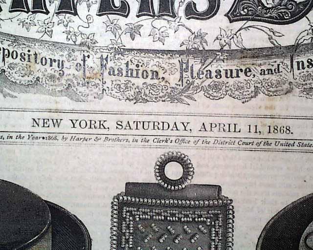 1869 Post Civil War Era Handwritten Diary 17yr Old Reese Keay Franklin Indiana