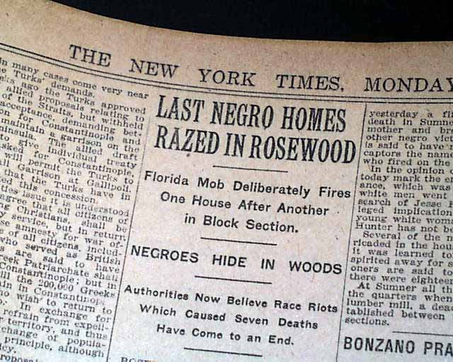 rosewood massacre article