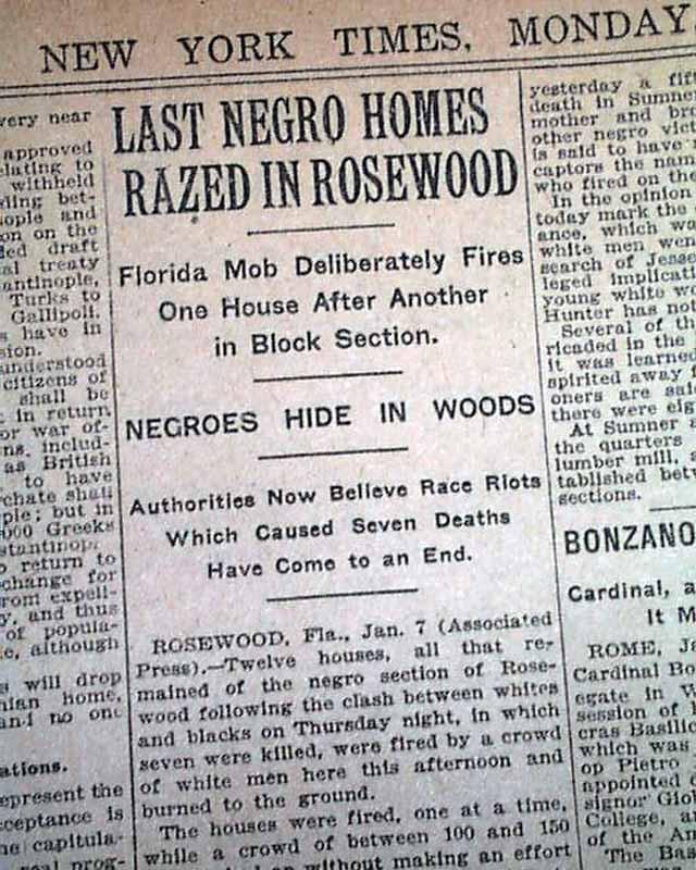 Race Riots (U.S.), 1917–1923
