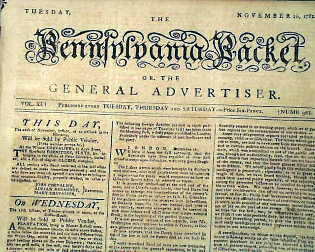 George washington to move to france after revolutionary for Revolutionary war newspaper template