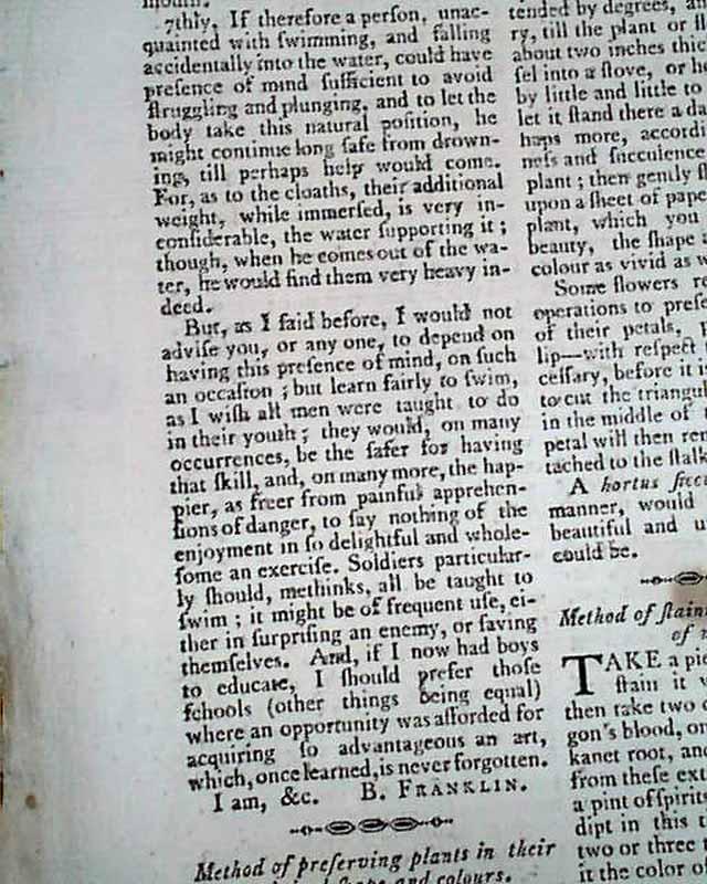 ben franklin constitution essay