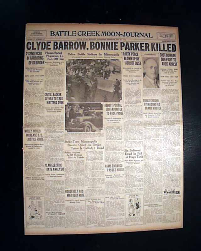 an introduction to bonnie and clyde Introduction: this research guide is a study of the famous outlaw duo bonnie and  clyde and their existence in american memory i have divided the guide into.