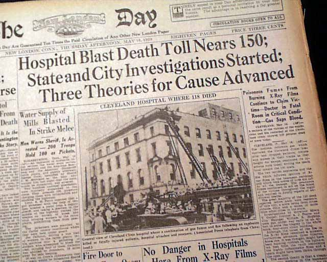 Cleveland Clinic Fire Of 1929