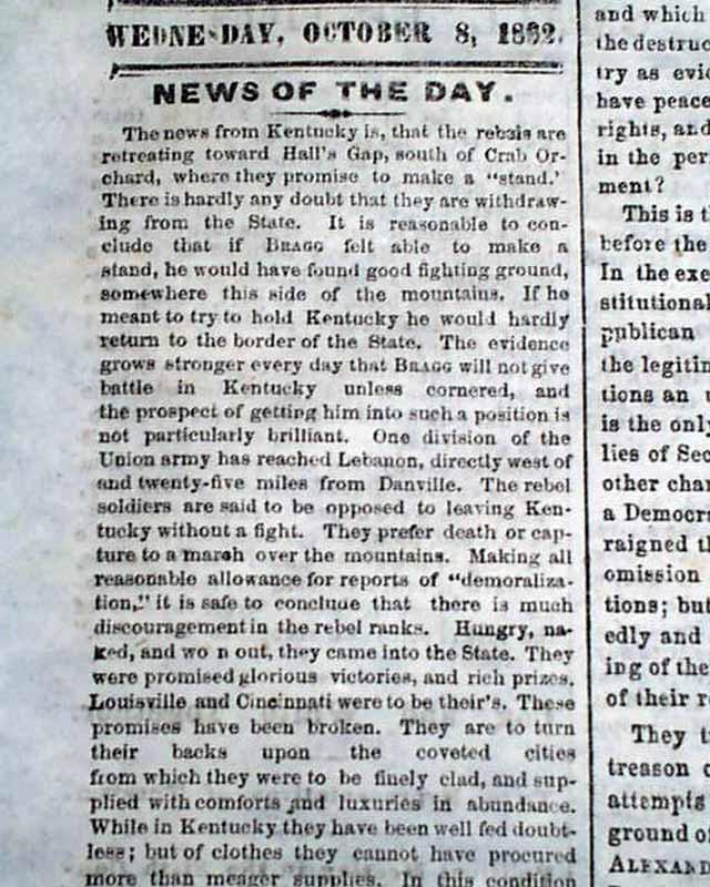 Details about 1862 EMANCIPATION PROCLAMATION Abraham Lincoln s Speech    Emancipation Proclamation Speech