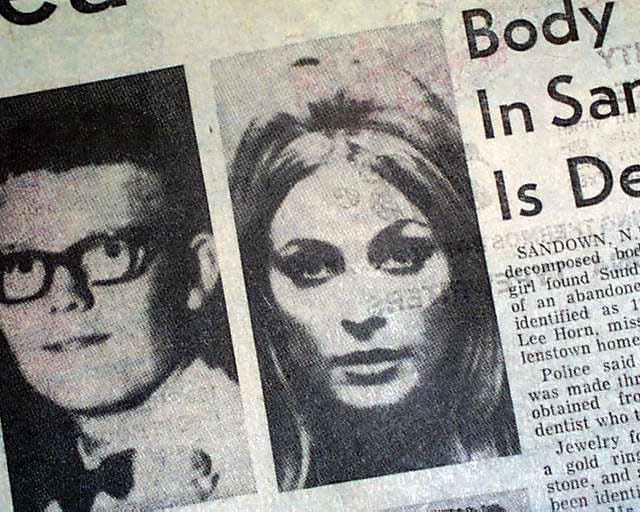 Charles Manson murders... Sharon Tate-LaBianca...