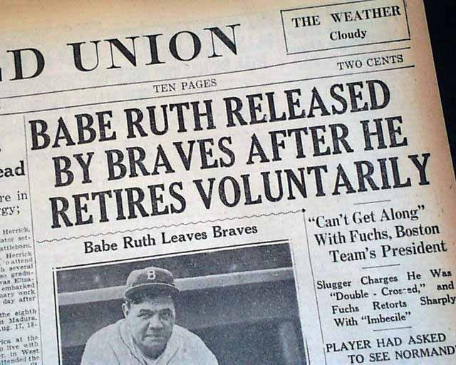 the career and achievements of babe ruth in the game of baseball Babe ruth's effect on american culture - a look at the lasting impact babe ruth has had in american baseball and pop culture.