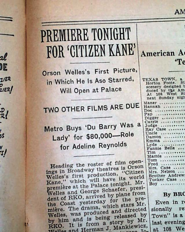 american dream citizen kane vs mildred American dream comparecontrast great gatsby and citizen kane essaysthe united states of america is the most powerful, wealthy, and attractive country in the world.
