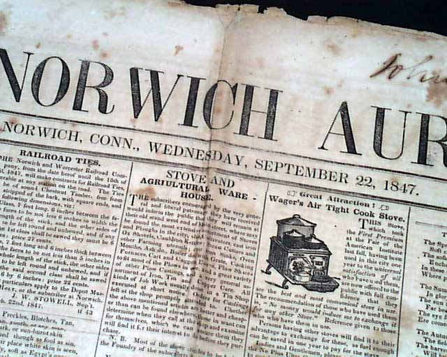 Norwich newspapers