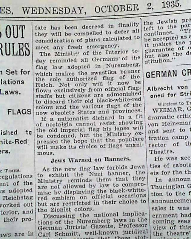 """the effect of the nuremberg laws The reich citizenship law (september 15, 1935) and the first regulation to the reich citizenship law (november 14, 1935) the reichstag passed the so-called nuremberg laws (or """"nuremberg racial laws"""") on september 15, 1935, during the seventh reich party rally of the nsdap in nuremberg."""